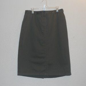 L.L. BEAN original Fit skirt
